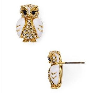 Authentic Kate Spade Owl 🦉 studs